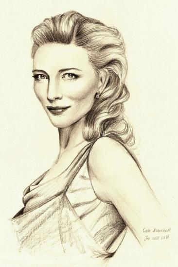 Cate Blanchett par Phoebe